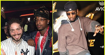 Post Malone, Offset & More Celebrate 21 Savage's Birthday With Tequila Avion