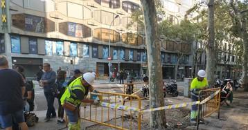 La Guardia Urbana de Barcelona aconseja a los comercios cerrar durante la manifestación de este sábado