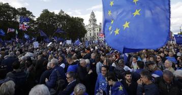 Manifestación en Londres para pedir un nuevo referéndum del Brexit