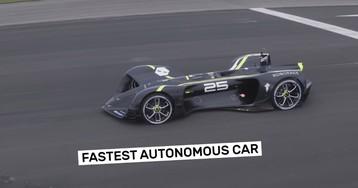 Электромобиль Robocar занесен в Книгу рекордов Гиннеса как самая быстрая в мире автономная машина