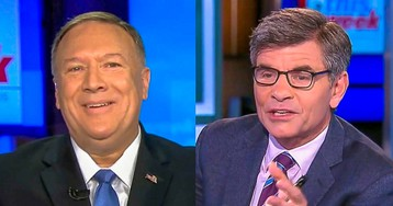 Pompeo Invents 'Internal Deliberations' Rule To Claim He Can't Talk About 'Private Citizen' Rudy Giuliani