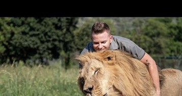 The Lion King: Beautiful Friendship Between a Young Zoo Keeper And His Big Cats