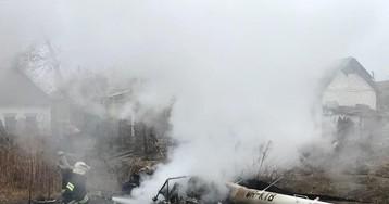При крушении вертолета погиб экс-министр аграрной политики