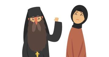 Анекдот про несчастную жену исвященника