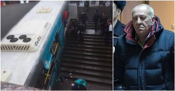 Водитель автобуса, въехавший в московский переход, отпущен на свободу