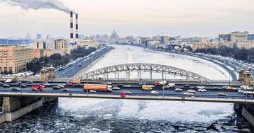 Ледоход на Москве–реке
