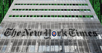 "New York Times abruptly eliminates its ""director of information security"" position: ""there is no need for a dedicated focus on newsroom and journalistic security"""
