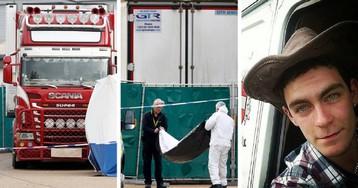 Замерзли или задохнулись? В Англии нашли грузовик с 39 телами
