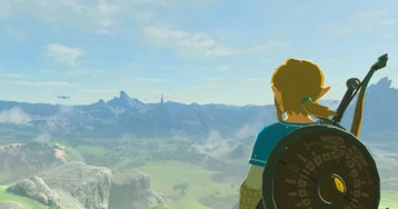 Mom Draws Massive, Highly Detailed Zelda: Breath of the Wild Map
