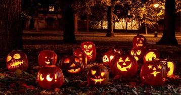 Trick or treat question: Are black jack-o'-lanterns racist?