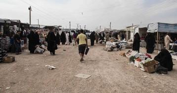 En el interior del campo sirio de Al Hol