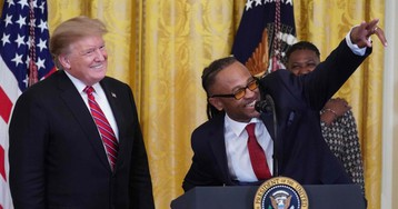 Democrats Will Have to Watch Trump Get Justice Award from Black Organization