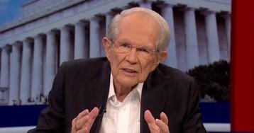 Pat Robertson Says Trump 'Is In Danger Of Losing The Mandate Of Heaven'