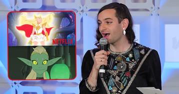 Netflix Adds Gender Non-Binary Character to Children's Cartoon 'She-Ra'
