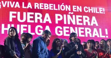 Las protestas en América Latina agitan la campaña argentina