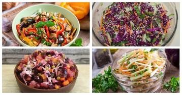 5 рецептов полезных витаминных салатов без майонеза