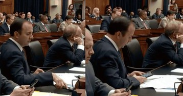 Congressman's phone passcode appears to be '777777'
