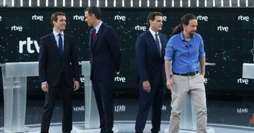 RTVE propone producir el debate de los cinco candidatos para abaratar costes