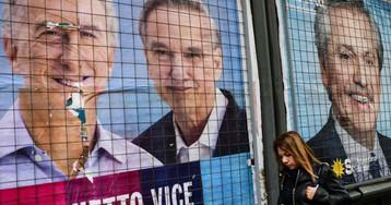 Macri y Fernández se disputan la presidencia argentina en pleno derrumbe económico