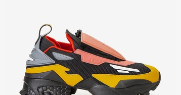 Take Your Best Look at Pyer Moss & Reebok's Futuristic Trail Shoe