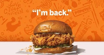 The Champ Is Here: Popeyes Announces Sunday Return of 'The Sandwich'