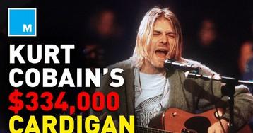 Kurt Cobain's cardigan sells for $334,000