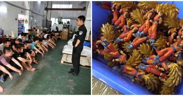 One Million Fake Toys And Figures Seized In China