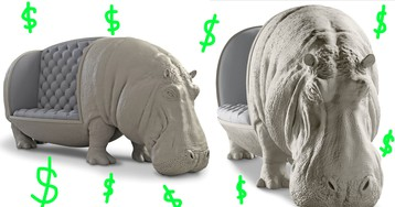This $95,000 Hippopotamus Couch Is an Investment, OK