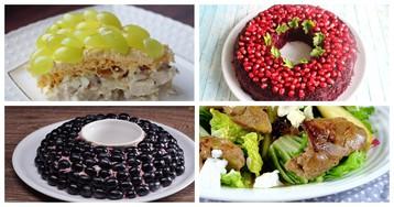 5 рецептов салатов, в состав которых входит фрукт