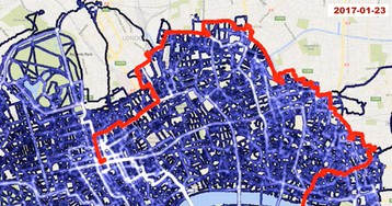 Латвиец объездил весь Лондон навелосипеде. Исделал изэтого залипательное видео