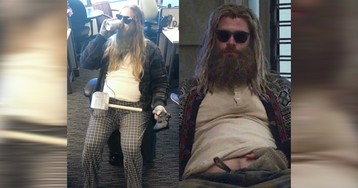 Amazing! 7-months-pregnant lady cosplays 'Fat Thor' from 'Avengers: Endgame' (Chris Hemsworth)