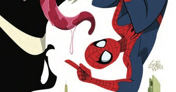 Spider-Man and Venom get an adorable makeover in this Double Trouble exclusive