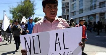 La crisis política magnifica las actitudes racistas en Bolivia