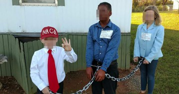 Dad reshares racist Obama costume he dressed kid in, gets outed as convicted killer