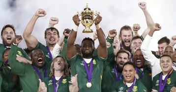 La victoria de Sudáfrica ante Inglaterra en la final del Mundial de Rugby, en imágenes