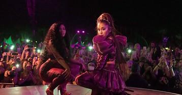 "Ariana Grande, Nicki Minaj & Normani Unite on 'Charlie's Angels' Song ""Bad to You"""
