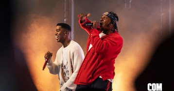 Kid Cudi Brings Out Pusha-T, Timothée Chalamet, and King Chip at ComplexCon Long Beach 2019