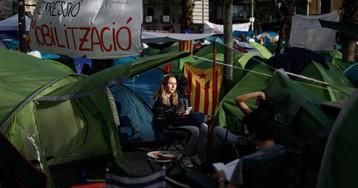 C's denuncia la acampada de Barcelona ante la Junta Electoral