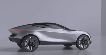 Kia Futron Concept is an electric SUV coupe