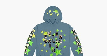 "Kid Cudi's Cactus Plant Flea Market ""Entergalactic"" Hoodie Is Here for 2 Days Only"