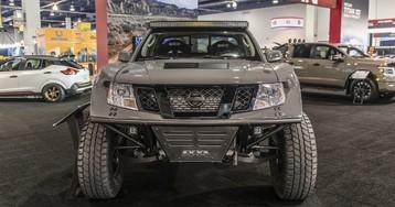 Nissan Frontier 600-hp desert-runner, 370Z with 750 hp lead assault on SEMA