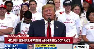 FAIL: Trump Begged KY Not To Let Beshear Win: 'You Can't Do That To Me!'