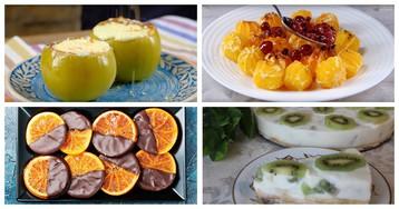 5 вкусных десертов с зимними фруктами