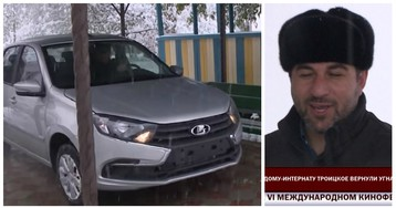 Угонщики вернули автомобиль детскому интернату после просмотра новостей