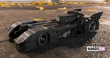 The New 3,300-Piece Tim Burton Batmobile Might Be the Best Lego Model I've Ever Built