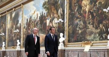 Макрон: у России есть три сценария развития