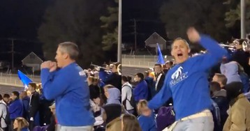 This Dad Knows His Daughter's Entire Cheer Routine And I Am IMPRESSED