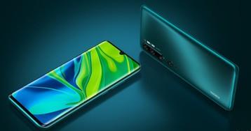 Xiaomi выпустила новый смартфон Mi Note 10 Pro