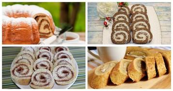 5 рецептов сладких рулетов с разным тестом и начинками на любой вкус