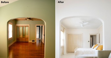 Holiday House Bedroom Tours (Before & After)